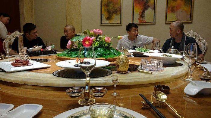 【御寶齋】--與蘇城國家級玉雕大師楊曦、蔣喜、瞿利軍、葛洪、曹揚、吳金星…餐敘。