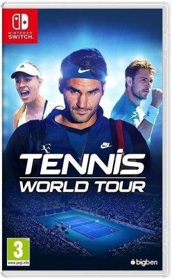 【二手遊戲】任天堂 NINTENDO SWITCH NS 網球世界巡迴賽 TENNIS 中文版【台中恐龍電玩】