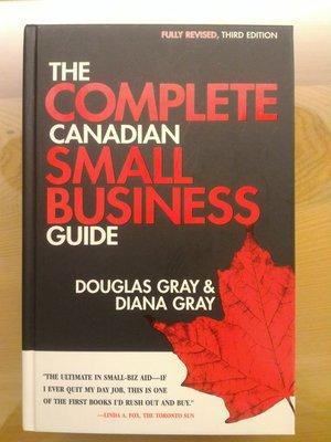 全新 非二手書 The Complete Canadian Small Business Guide