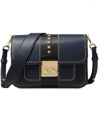 Coco 小舖 Michael Kors Sloan Editor star studded Shoulder Bag