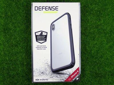 柒 Xdoria Apple iPhone X 10 IX 邊框 防摔殼 IX 星盾BUMP黑色