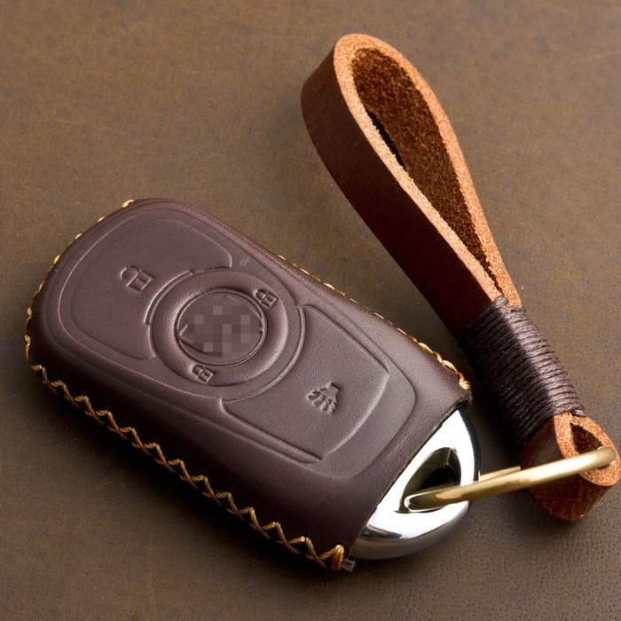 專用于新款別克昂科威 昂科拉 新君越 威朗智能汽車鑰匙包皮套