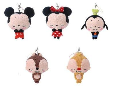 *凱西小舖*日本東京迪士尼樂園米奇 米妮 高飛 奇奇 蒂蒂 珠鍊/手機吊飾*5選1