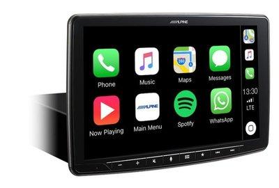 嘉義三益 ALPINE iLX-F309E 9吋 CarPlay / Andriod Auto多媒體主機