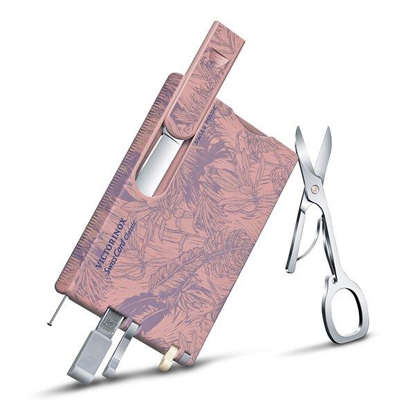 【angel 精品館 】瑞士維氏 VICTORINOX 10用名片型瑞士刀- 新款印花 0.7155