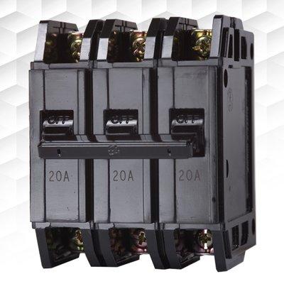 【士林電機】無熔線斷路器 BH 3P 10A 15A 20A 30A 40A 50A (220V~5KA) 無熔絲開關
