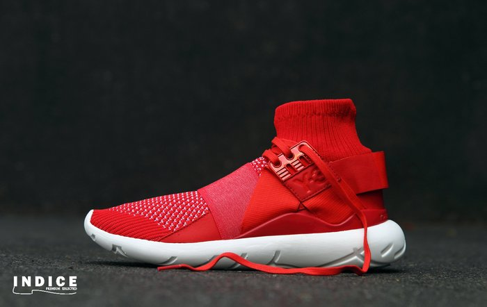 INDiCE ↗ Adidas Y-3 QASA ELLE AF6193 女性運動休閒鞋 襪套忍者 針織紅