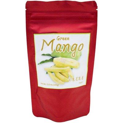 ◎亨源生機◎台灣芒果青 果乾 芒果青 酸甜 零嘴 全素可用 天然食材 無添加