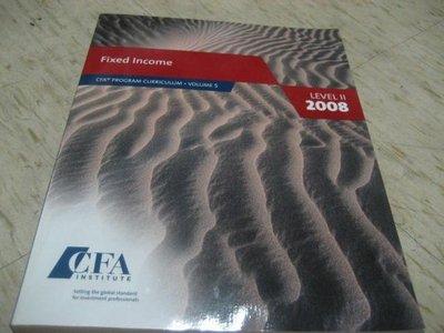 Fixed Income (CFA) 2008年出版/ ISBN:0536342393