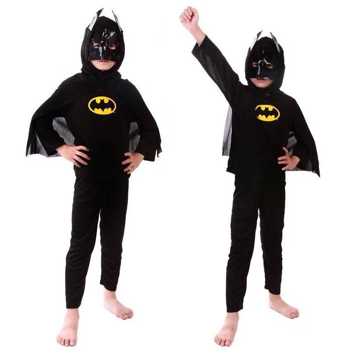 【衣Qbaby】男童萬聖節服裝角色扮演 #蜘蛛人#蝙蝠俠 表演服套裝