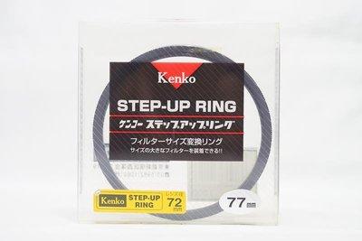 全新 日本 Kenko 濾鏡轉接環 SET-UP RING 72mm 77mm