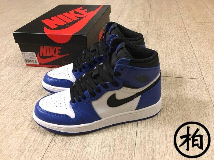 【柏】近全新 台灣公司貨 AIR JORDAN 1 RETRO HIGH OG BG 小閃電 575441-403 女鞋