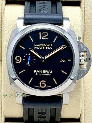 重序名錶 PANERAI 沛納海 Luminor PAM1312 PAM01312 三日鍊 自動上鍊腕錶 2017年保單