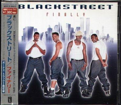 K - Blackstreet - Finally - 日版 CD+1BONUS - OBI