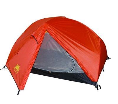 【大山野營】附地布 RHINO 犀牛 X-2 二人極緻輕量帳 登山帳篷 鋁合金帳篷