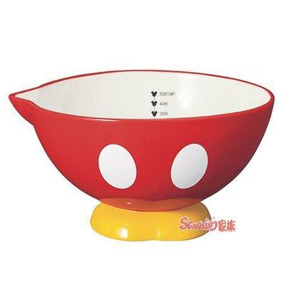 《東京家族》迪士尼DISNEY 米奇 陶瓷量碗(刻度碗500ml)