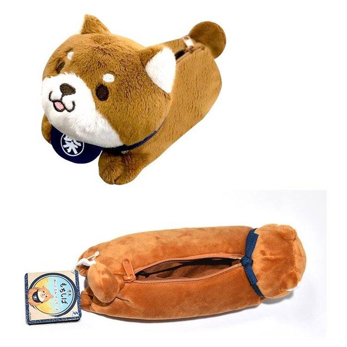 柴犬 化妝包 筆袋 文具袋 日本正版
