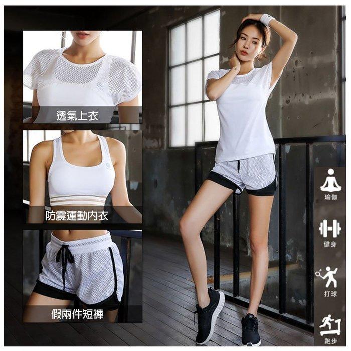 韓國連線 運動套裝 運動內衣 瑜珈服 慢跑 健身 運動短褲 罩衫 健身背心 背心 內衣 防震內衣 假兩件短褲 短褲