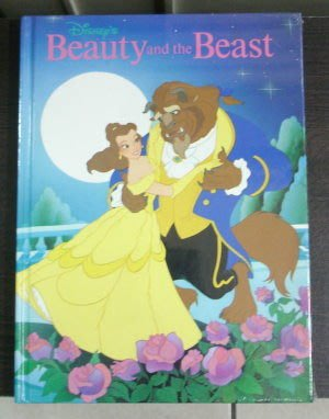 【絕版珍藏】美國精裝迪士尼兒童繪本─ Beauty and the Beast + Lady and the Tramp (兩本全新未開封)