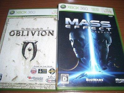 XBOX360 上古卷軸4 The Elder Scrolls IV & 質量效應 Mass Effect~ 純日版 ~ 新北市