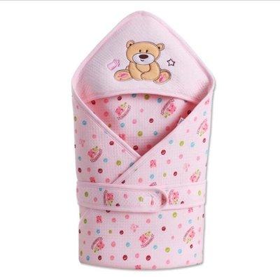 新生兒包被棉嬰兒抱被春秋冬抱毯夏季加厚款被子襁褓包巾寶寶用品