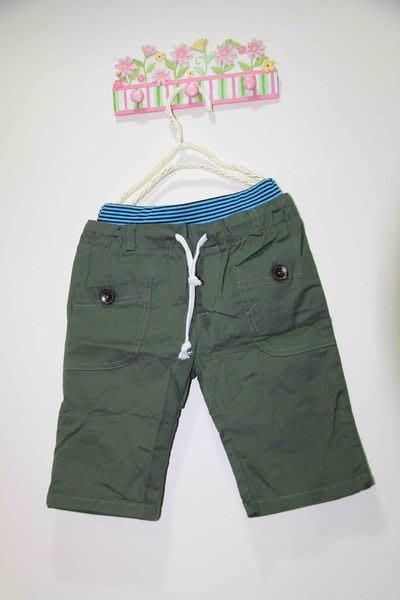 韓版綠色休閒褲