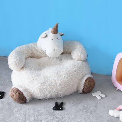 〖洋碼頭〗神獸卡通玩具兒童懶人沙發公仔柔軟坐墊新品生日禮物 mlb177