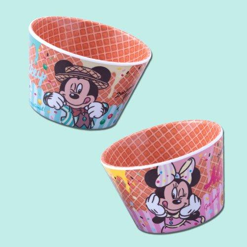 ArielWish預購日本東京迪士尼2019夏季慶典園遊會夏天海灘度假花火節戲水節霜淇淋冰淇淋杯兒童塑膠點心杯-2入一組