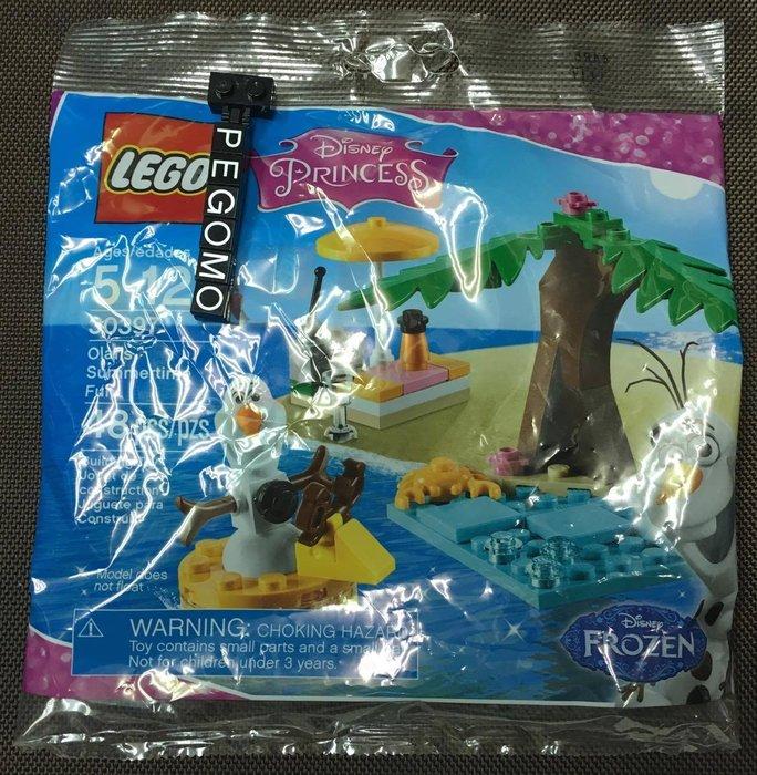 【痞哥毛】LEGO 樂高 30397 迪士尼系列 雪寶 全新未拆