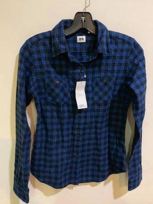 (年底搬家大出清)全新Uniqlo法蘭絨長袖襯衫