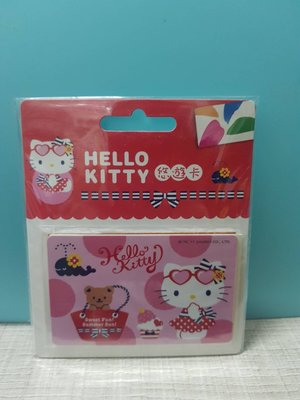 HELLO KITTY悠遊卡-夏日趴踢-010302