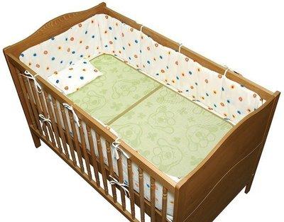 ☆天才老爸☆→美國【K's Kids 奇智奇思】Bamboo Charcoal Crib Mat 竹炭纖維嬰兒床墊