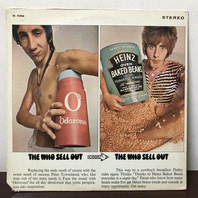 晨雨黑膠【西洋】搖滾500大第115名~美版/The Who – The Who Sell Out (1968首版)