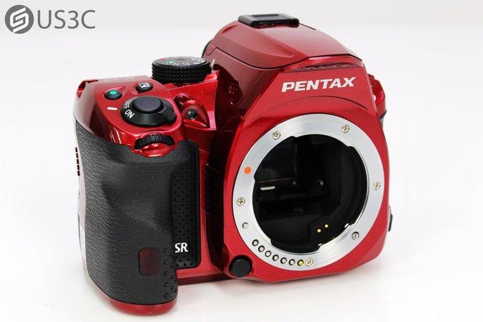 【US3C】富堃公司貨 PENTAX K30 單機身 紅色 單眼相機 初階單眼 1630萬畫素 二手單眼