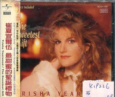 *真音樂* TRISHA YEARWOOD / THE SWEETEST GIFT 二手 K19226