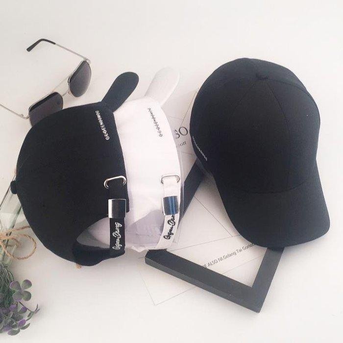 帽子男黑色鴨舌帽韓製夏季遮陽帽休閒百搭男士棒球帽街頭簡約MCJJ13050