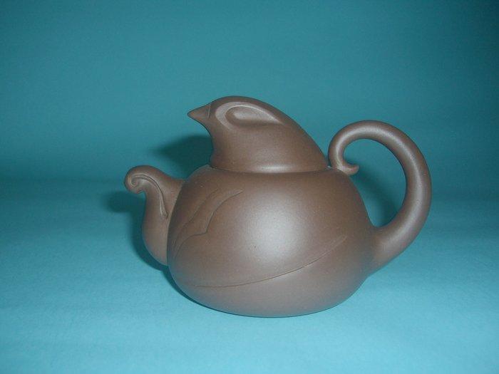 (3包)中國宜興早期工藝美術師俞玉芳280CC天機(雞)紫砂壺(85年留下來的福)
