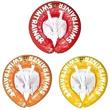 【魔法世界】德國SWIMTRAINER Classic 學習游泳圈(紅、橘、黃)
