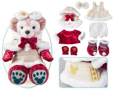 尼德斯Nydus~* 日本東京迪士尼海洋限定 達菲熊 雪莉梅 雪莉玫 ShellieMay 聖誕節限定 冬裝 現貨