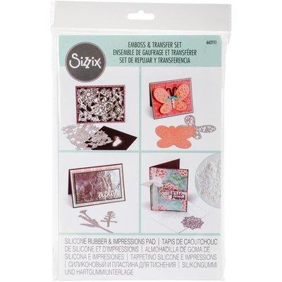 阿里家 Sizzix 662111 薄板模具變壓花工具 轉換墊板