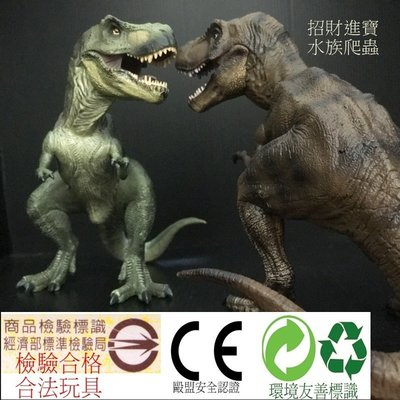 蹲姿暴龍 恐龍玩具 坐姿 霸王龍 侏羅紀 世界 公園 兒童禮物模型 GK 仿真動物爬蟲 非PAPO DM02