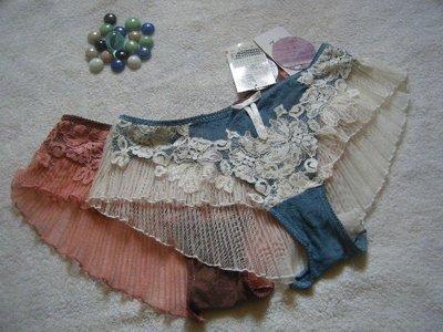 酷媽媽私藏*潘多菈 PANS BRA*繁花煙雨系列造型蕾絲平口褲*3(EL)*