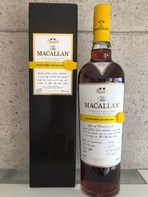 Macallan 1999. 13 Year Old Easter Elchies Cask 6697-Sherry Cask-57.2%abv
