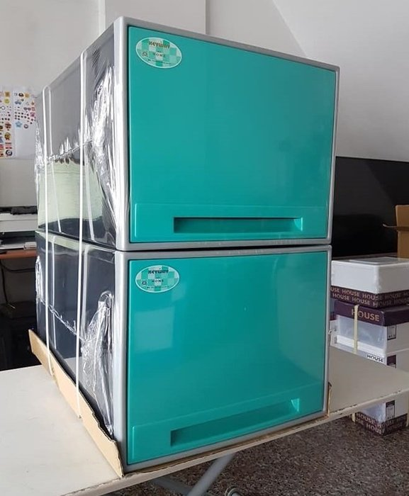 小毛收納館『KEYWAY CKB899單層櫃整理箱3入』含稅開發票 免運 聯府 收納箱 抽屜收納箱 可堆疊抽屜櫃 65L
