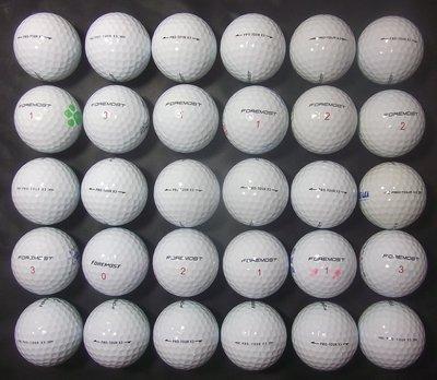 *新威全高爾夫*~特級9~9.9999成新(ForeMost Tour X3)三層球(共36顆)