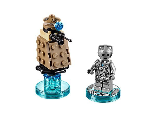 【LEGO 樂高 】100% 全新美國正品 益智玩具 積木/  Dr.Who三合一次元系列 Cyberman 71238