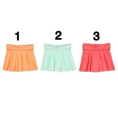 美國童裝Crazy8正品 Pull-On Skirt 短裙 (/木瓜色/薄荷色/西瓜紅) XS. S .M.特價270元