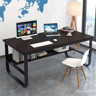 ��免運�� 【北歐熱賣】簡易電腦桌臺式60/80/90cm100寬書桌120長桌子140公分辦公桌70高