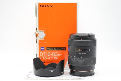 【高雄青蘋果3C】SONY Vario-Sonnar DT 16-80mm F3.5-4.5 ZA #47782