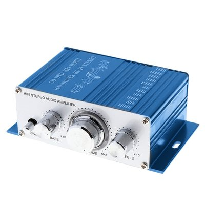 Kentiger HY-2001家用迷你小型擴大機~電腦喇叭床頭喇叭擴大機~